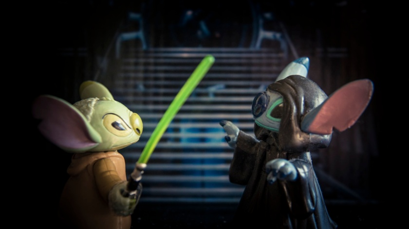 Toys Disney Star Wars : Stitch Yoda vs Stitch Palpatine - Photo : Gilderic