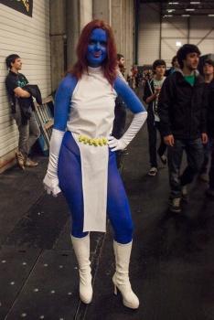 FACTS 2012 : cosplay Mystique (X-Men) - Photo : Gilderic