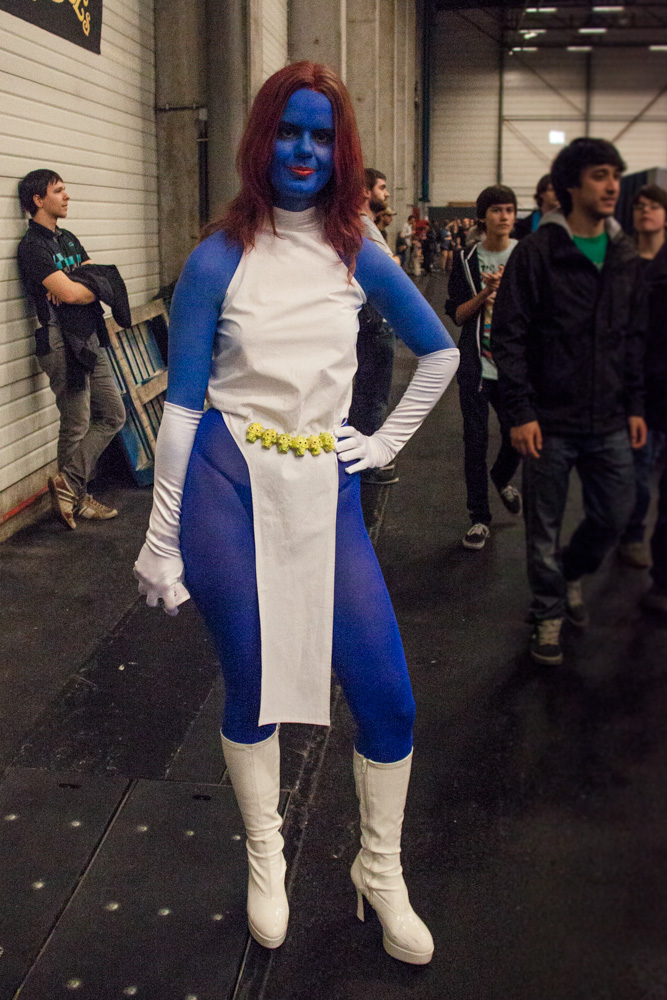 FACTS 2012 : cosplay Mystique (X-Men)  - Photo : Gilderic