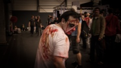 FACTS 2012 : cosplay zombie - Photo : Gilderic