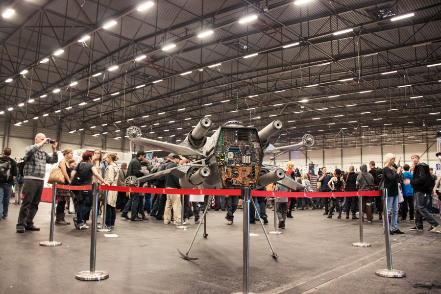 FACTS 2012 : Maquette X-WIng (Star Wars) - Photo : Gilderic