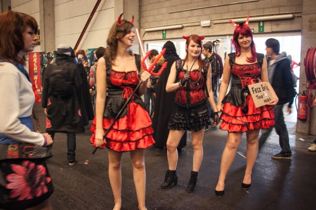 FACTS 2012 : the devil girls cosplay - Photo : Gilderic