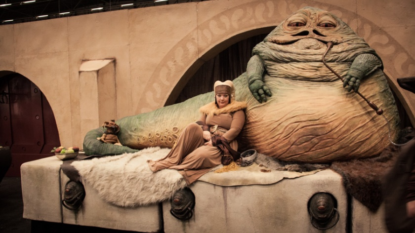 FACTS 2012 : Jabba the Hutt (Star Wars) - Photo : Gilderic