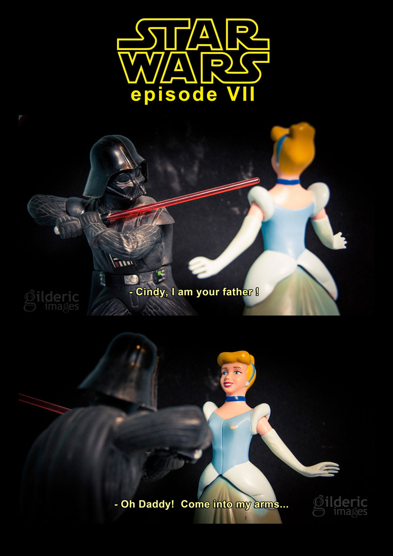 Disney Star Wars VII - Cinderella, I am your Father - Photo : Gilderic
