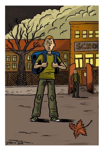 Etrange automne (Strange Autumn) - Illustration de Gilderic