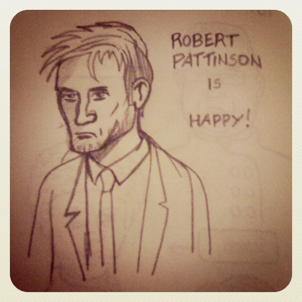 Robert Pattinson (Twilight) - Dessin : Gilderic