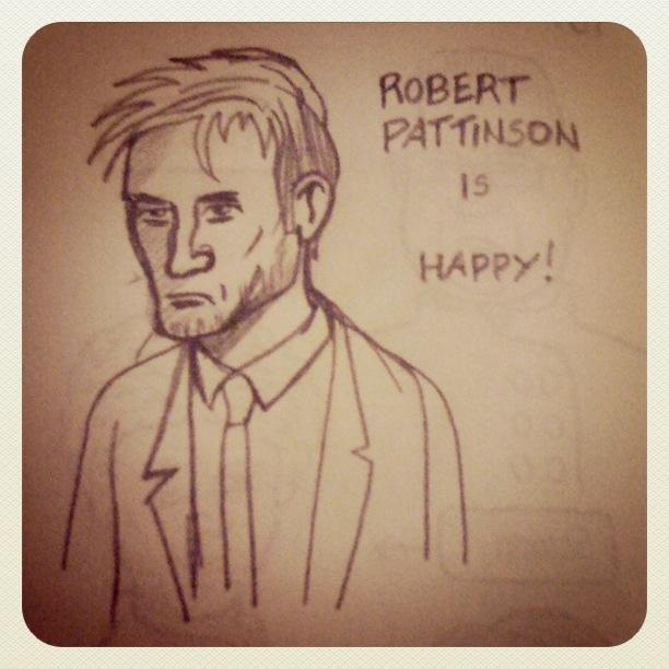 Robert Pattinson (Twilight) - Dessin : Gilderic