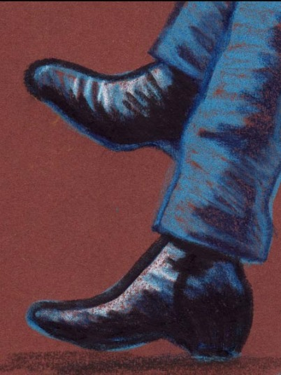 Black Boots (Les botillons noirs) - dessin : Gilderic