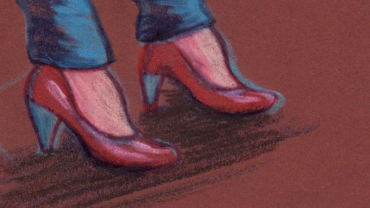The Red Shoes (Talons aiguilles) - dessin : Gilderic