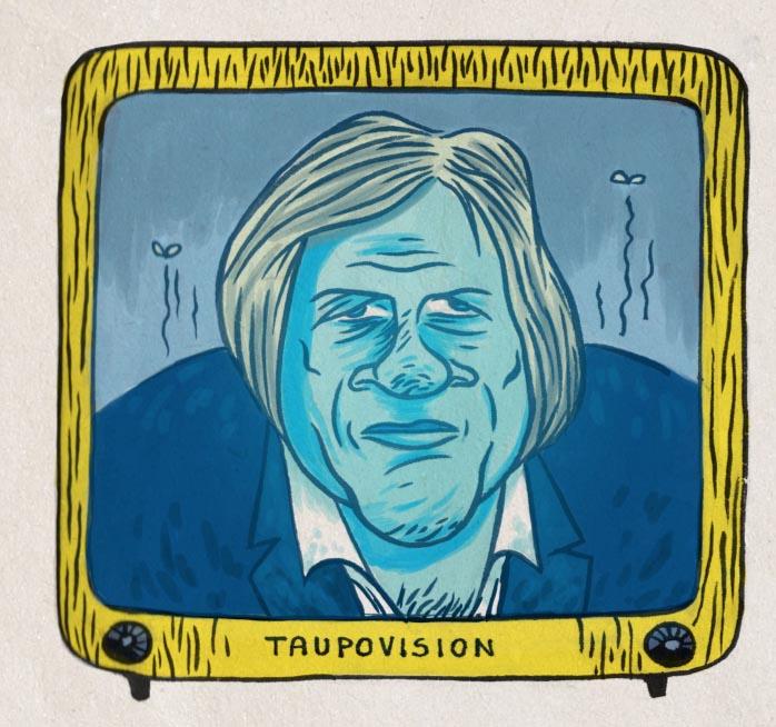 Gérard Depardieu -  Caricature de GIlderic