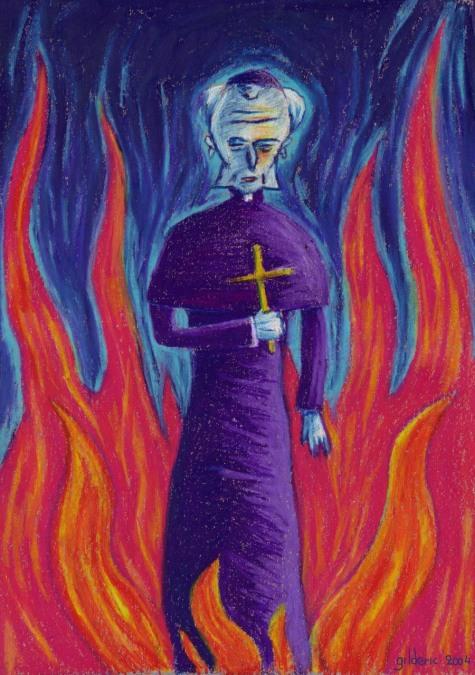 Pape maléfique - Illustration : Gilderic