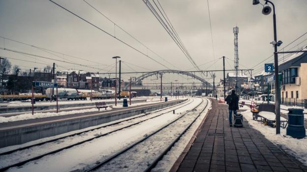 Libramont Station -  sur le quai - Photo : Gilderic