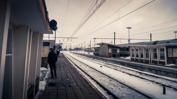 Libramont Station - attente - Photo : Gilderic