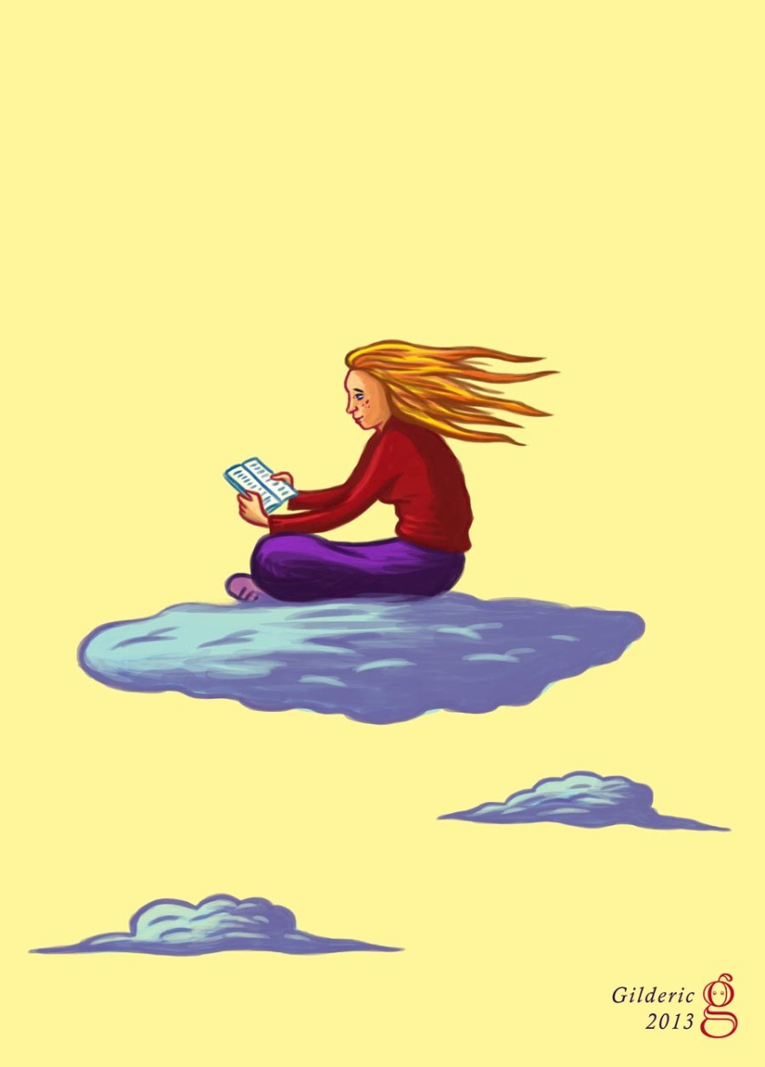 Concours Salon du Livre 2013 -  Illustration de Gilderic