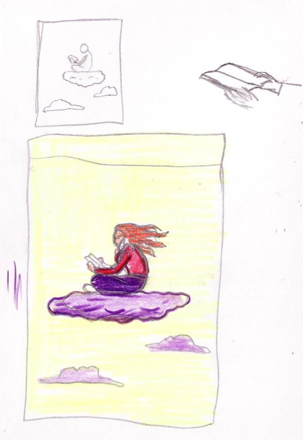 Salon du Livre 2013 (sketch) - Dessin de Gilderic