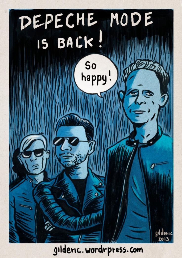 Depeche Mode - Dessin de Gilderic