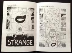L'Atelier de l'étrange (extraits) - Texte et dessins : Gilderic