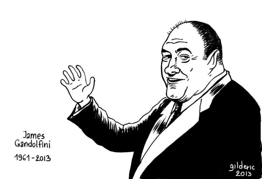 James Gandolfini (1961-2013) - Portrait de Gilderic