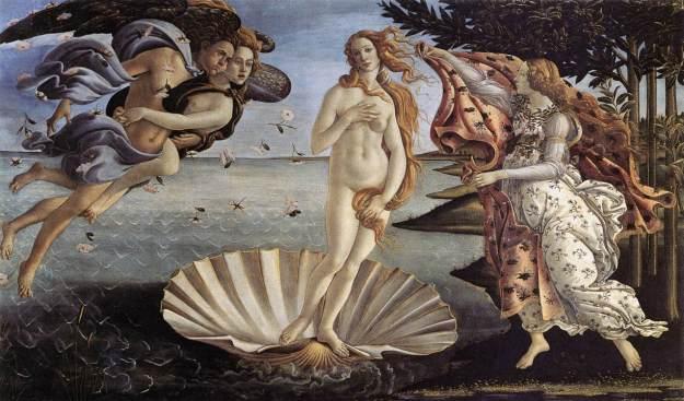 Naissance de Vénus - Botticelli - 1485