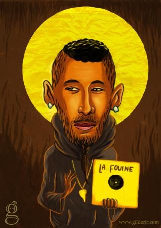 La Fouine (Pop Icon) - Illustration de Gilderic