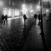 Heading Home (from darkness to light) - Une nuit à Bratislava - Photo : Gilderic