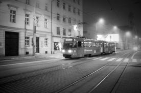 Un Tramway nommé... Bratislava - Une nuit à Bratislava - Photo : Gilderic