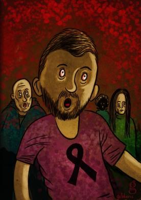 13 décembre horreur - Dessin de Gilderic