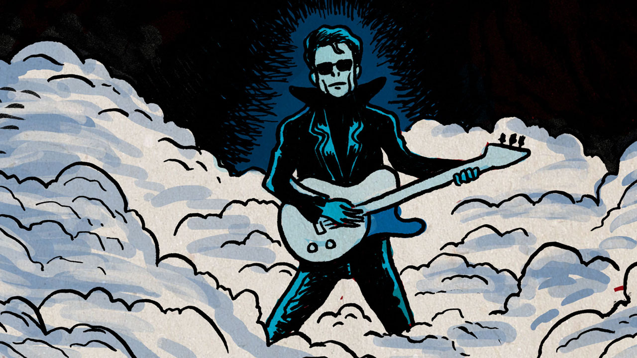 Lou Reed illustré