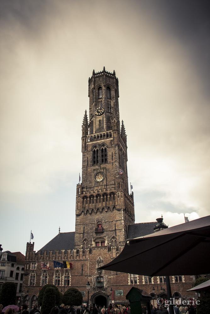 Le Beffroi de Bruges - Photo de Gilderic
