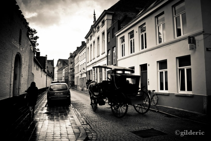 The Ghost Cab of Bruges - Photo : Gilderic