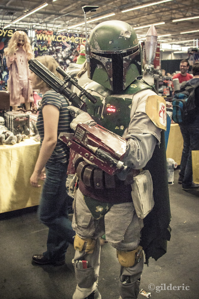 Bobba Fett (cosplay Star Wars) - FACTS 2013 - Photo : Gilderic