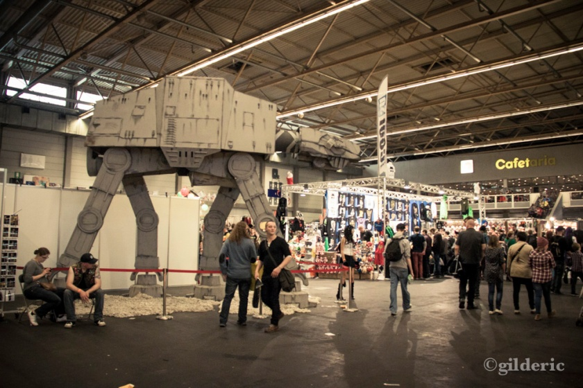 AT-AT replica (Star Wars) - FACTS 2013 - Photo : Gilderic