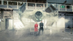 TIE Fighter replica (Star Wars) - FACTS 2013 - Photo : Gilderic