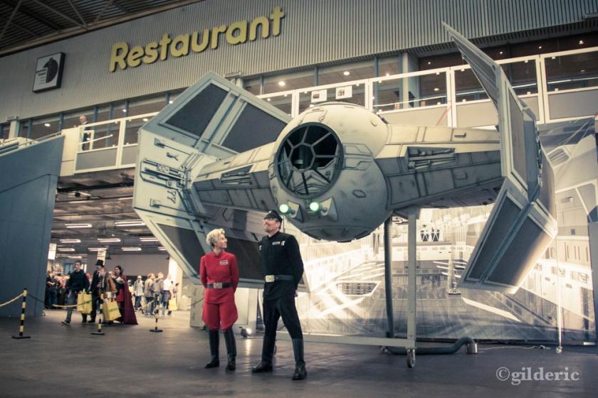 Réplique TIE Fighter  (Star Wars) - FACTS 2013 - Photo : Gilderic