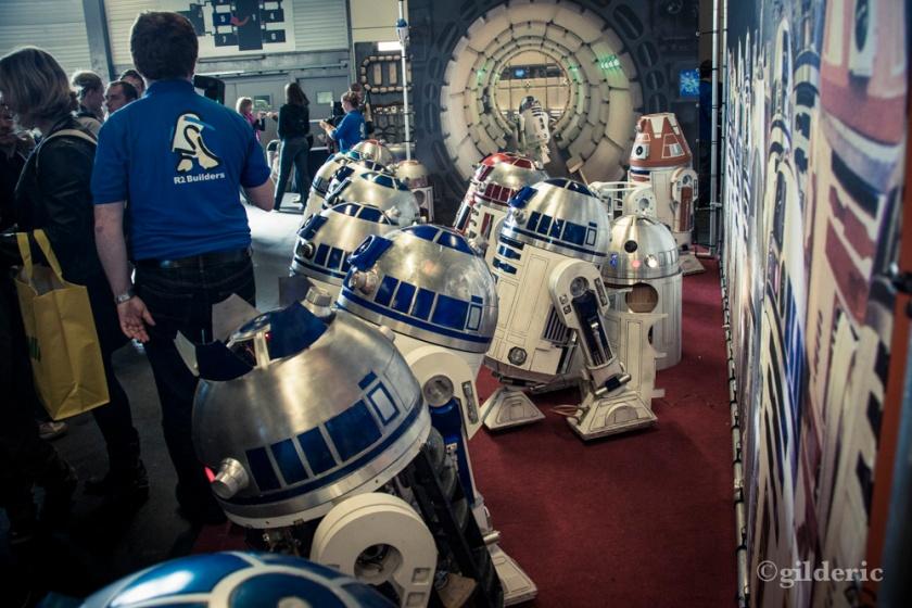 Droides (R2-D2) de Star Wars - FACTS 2013 - Photo : Gilderic