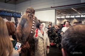 Chewbacca & Cruella (cosplay Star Wars) - FACTS 2013 - Photo : Gilderic