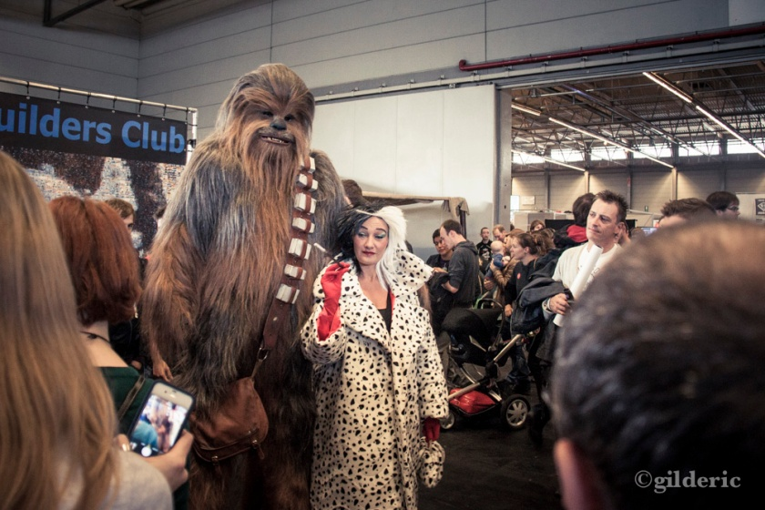 Chewbacca & Cruella (cosplay Star Wars) - FACTS 2013 - Photo : Gilderic