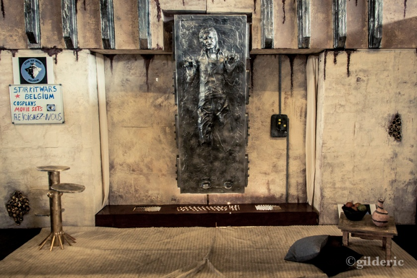 Han Solo Carbonite (Star Wars) - FACTS 2013 - Photo : Gilderic
