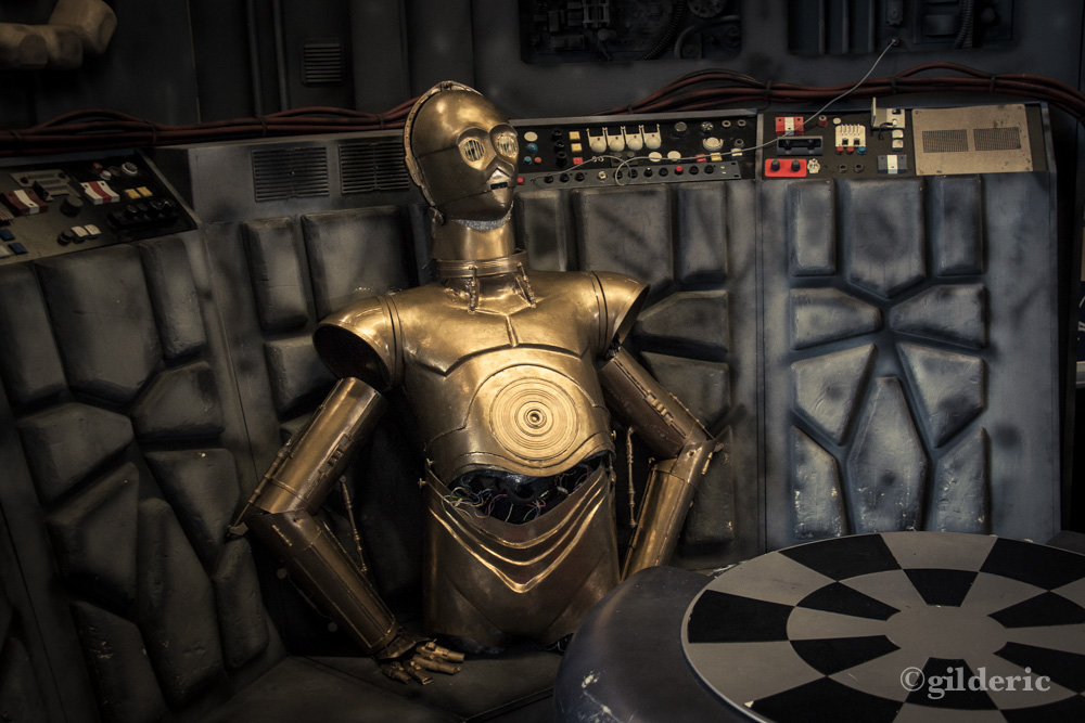 C3PO (Star Wars) - FACTS 2013 - Photo : Gilderic