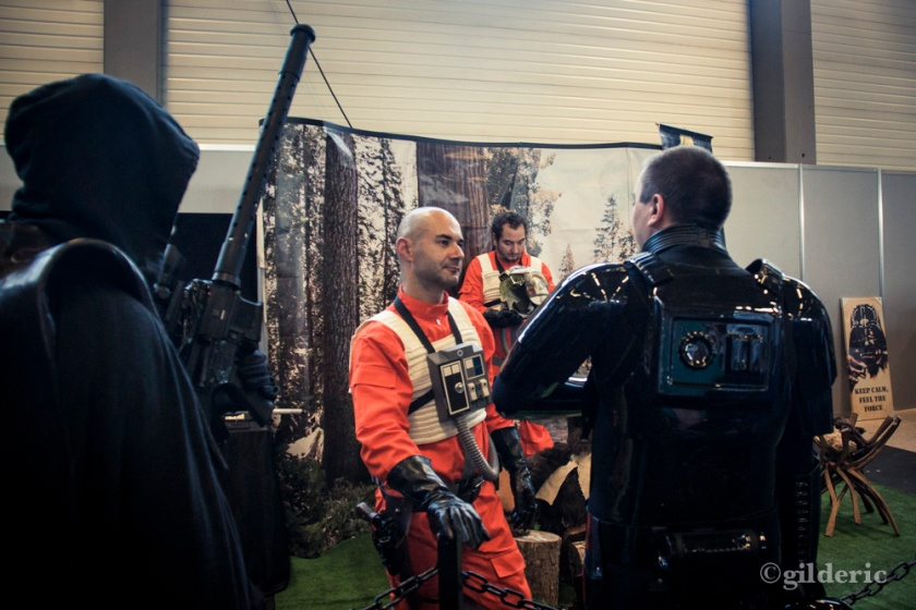 Pilotes rebelles et impériaux (cosplay Star Wars) - FACTS 2013 - Photo : Gilderic
