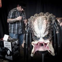 Tête de Predator (FACTS 2012) - Photo : Gilderic