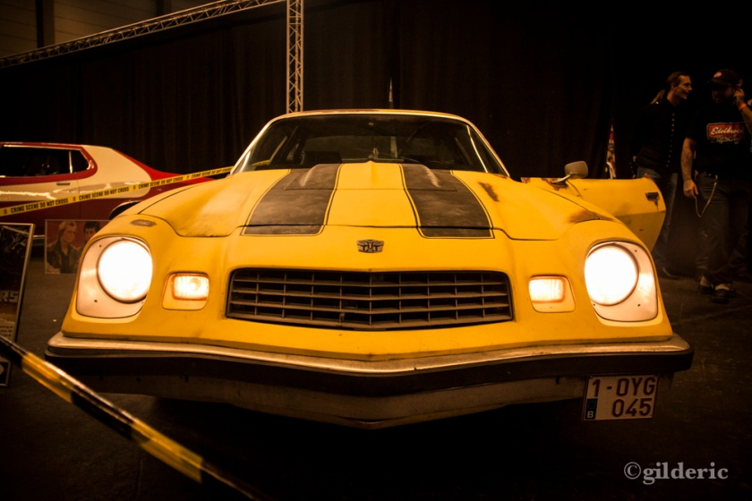 "FACTS 2013 -Camaro ""Bumblebee"" de Transformers - Photo : Gilderic"