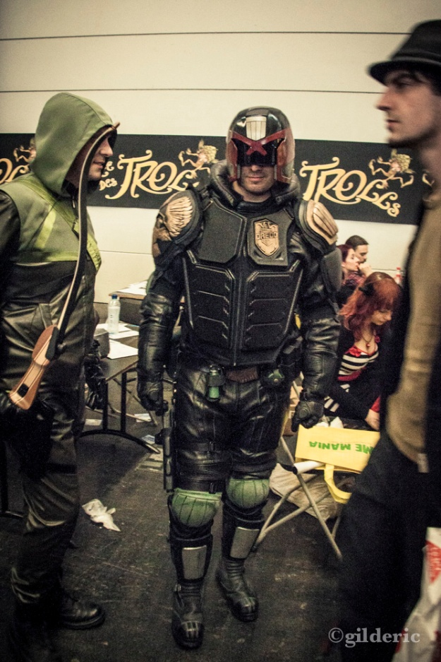 FACTS 2013 -Green Arrow and Judge Dredd cosplay - Photo : Gilderic