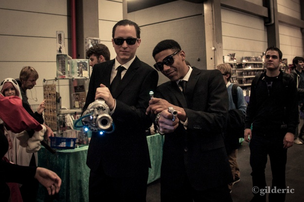 FACTS 2013 -Men in Black cosplay - Photo : Gilderic