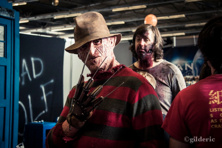 FACTS 2013 -Freddy Krueger et zombie - Photo : Gilderic
