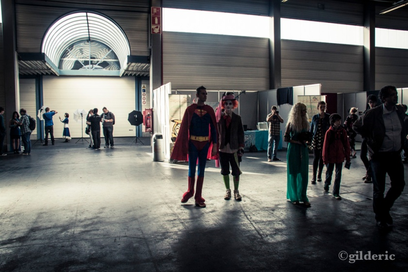 FACTS 2013 -superman et Mad Hatter cosplay - Photo : Gilderic