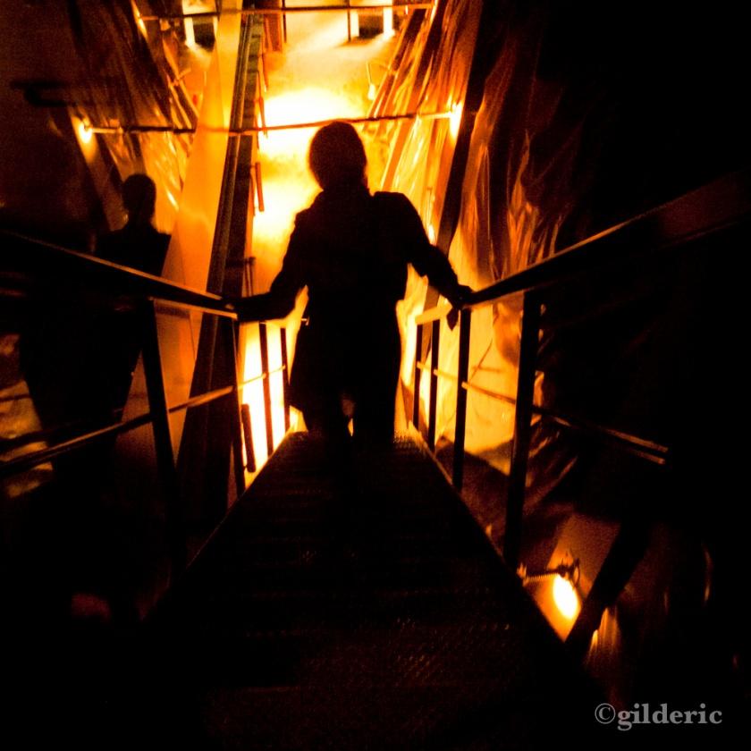 Descente aux enfers (Liège, Belgique) - Photo : Gilderic
