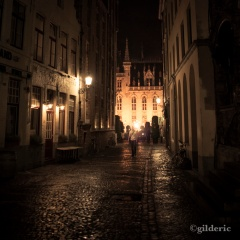 Mystery in the Alley (Bruges, Belgique) - Photo : Gilderic