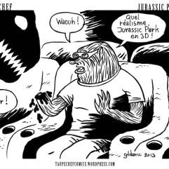 Taupe Chef (Jurassic Park 3D) - dessin de Gilderic