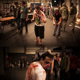 Walking Dead (Zombie cosplay, FACTS 2012) - Photo : Gilderic